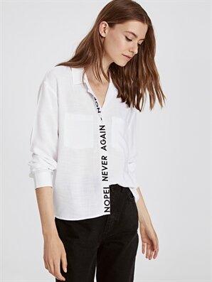 Slogan Baskılı Gömlek - LC WAIKIKI