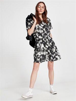 Beli Lastikli Batik Elbise - LC WAIKIKI