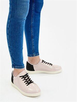 Letoon Kadın Pudra Rengi Sneaker - Letoon