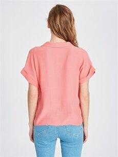 Kadın V Yaka Gömlek