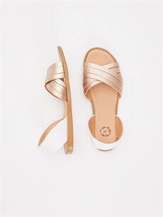 Diğer malzeme (poliüretan) Diğer malzeme (poliüretan)  Kadın Çapraz Bant Sandalet