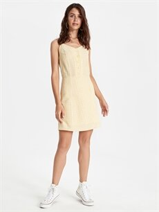 %65 Cotton %35 Polyester %65 U: COTTON %100 Pamuk  Pamuklu Ekose Elbise