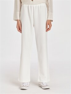 Kadın Beli Lastikli Salaş Pantolon