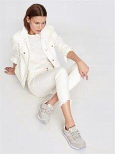 Pembe Letoon Kadın Bağcıklı Spor Ayakkabı