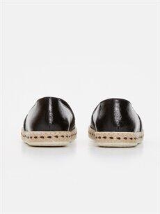 Kadın Parlak Espadril Ayakkabı