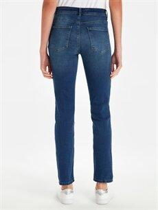 Kadın Yüksek Bel Slim Jean Pantolon