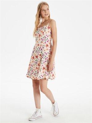 Çiçek Desenli Askılı Elbise - LC WAIKIKI