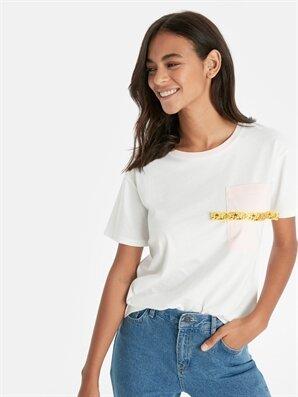 Cep Detaylı Pamuklu Tişört - LC WAIKIKI