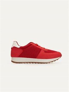 Kırmızı Letoon Kadın Bağcıklı Spor Ayakkabı 9SD063Z8 LC Waikiki