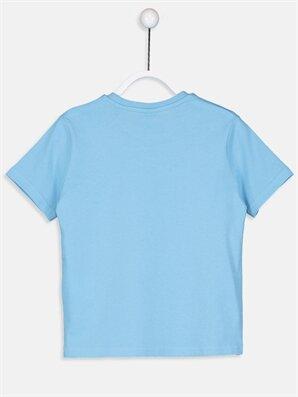 Erkek Çocuk Baskılı Pamuklu Tişört -9S0315Z4-JSW