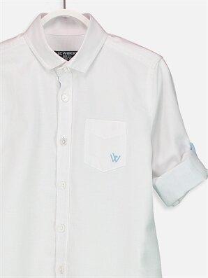 Erkek Çocuk Uzun Kollu Oxford Gömlek -9S0388Z4-JYX