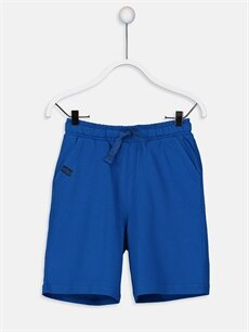 Mavi Erkek Çocuk Beli Lastikli Şort 9S0409Z4 LC Waikiki
