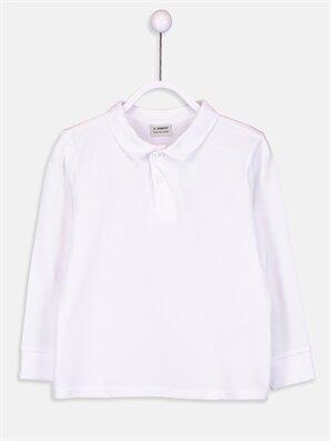 Erkek Çocuk Pamuklu Basic Tişört - LC WAIKIKI