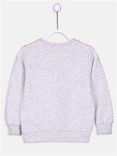 %60 Pamuk %40 Polyester  Erkek Çocuk Baskılı Sweatshirt