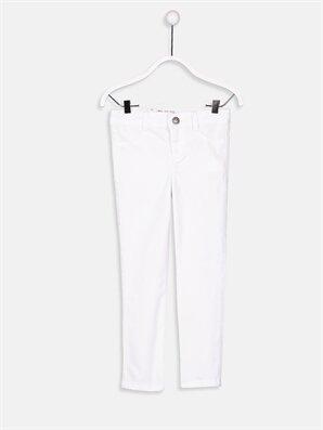 Kız Çocuk Skinny Gabardin Pantolon -9S1033Z4-E5X