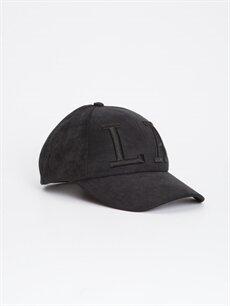 Siyah Erkek Çocuk Süet Şapka 9S4399Z4 LC Waikiki