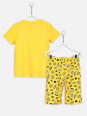 Erkek Çocuk Pamuklu Pijama Takımı -9S4884Z4-G7U