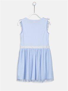 %100 Polyester Standart Pijamalar Kız Çocuk Fırfırlı Tüllü Gecelik