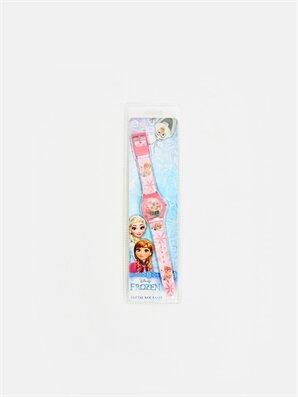 Kız Bebek Frozen Desenli Kol Saati - LC WAIKIKI