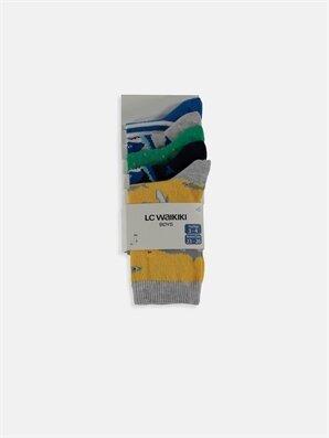 Erkek Çocuk Soket Çorap 5'li -9S6268Z4-K00
