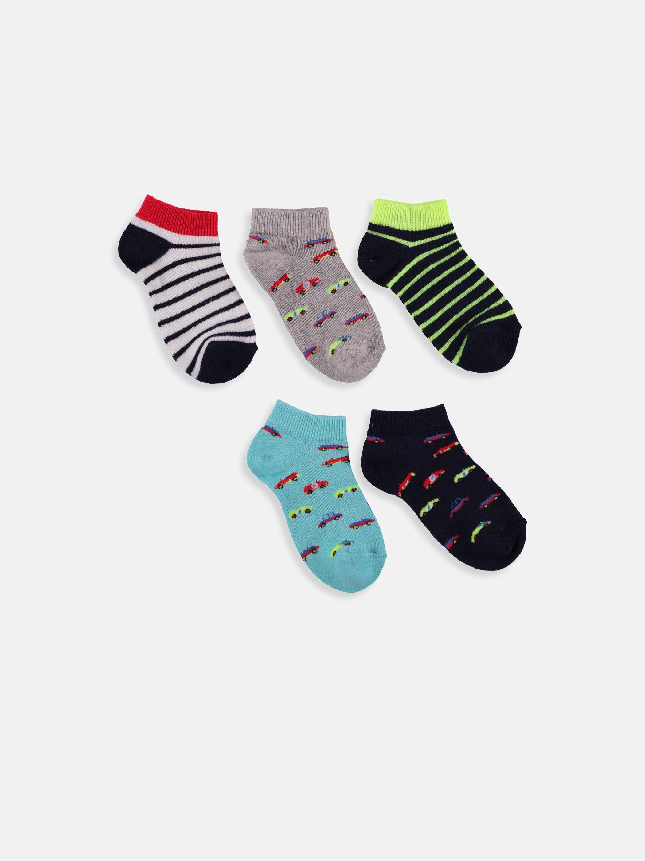Erkek Çocuk Patik Çorap 5'li -9S7095Z4-K00