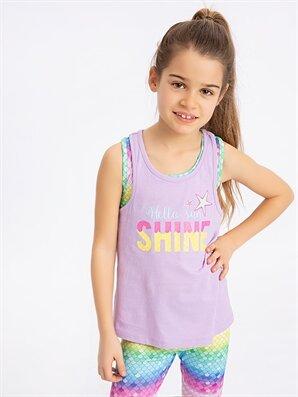 Kız Çocuk Pamuklu Spor Atlet - LC WAIKIKI