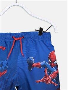Erkek Çocuk Erkek Çocuk Spiderman Deniz Şortu