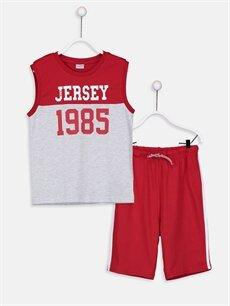 Kırmızı Erkek Çocuk Atlet ve Roller 9S8272Z4 LC Waikiki