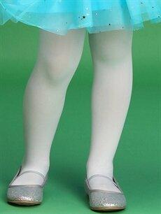 %92 Poliamid %8 Elastan  23 Nisan Kız Çocuk Külotlu Çorap