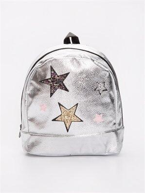 Kız Çocuk Yıldız Desenli Sırt Çanta - LC WAIKIKI