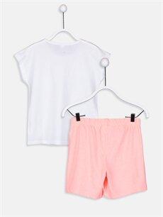 %100 Pamuk Standart Pijamalar Kız Çocuk Pamuklu Pijama Takımı