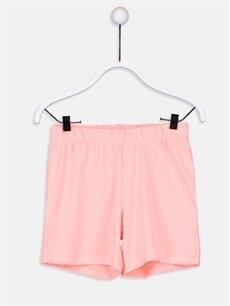 %100 Pamuk Kız Çocuk Pamuklu Pijama Takımı