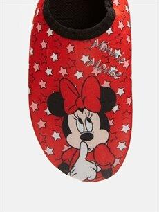 LC Waikiki Kırmızı Kız Çocuk Minnie Mouse Baskılı Deniz Ayakkabısı