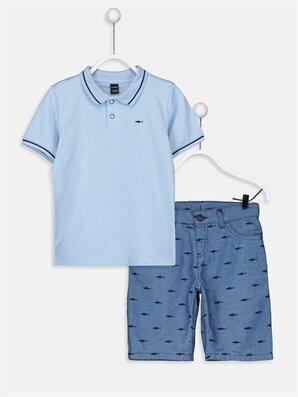 Erkek Çocuk Tişört ve Bermuda - LC WAIKIKI