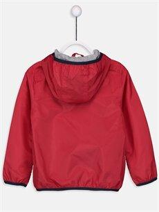 %100 Polyester %50 Pamuk %50 Polyester İnce Mont Erkek Çocuk İnce Kapüşonlu Mont