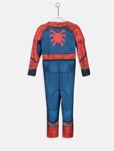 %100 Polyester %100 Polyester %100 Polyester  Erkek Çocuk Spiderman Kostüm