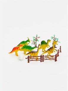 Çok Renkli Erkek Çocuk Oyuncak Dinozor Seti 9'lu 9SN808Z4 LC Waikiki
