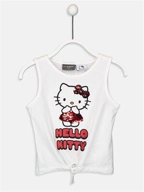Kız Çocuk Hello Kitty Pamuklu Atlet - LC WAIKIKI