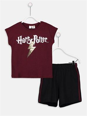 Kız Çocuk Harry Potter Pijama Takımı - LC WAIKIKI