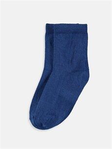 Lacivert Erkek Çocuk Soket Çorap 9SS343Z4 LC Waikiki