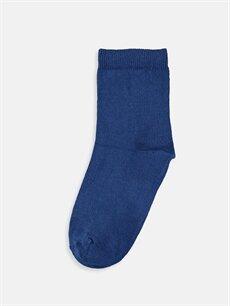 %75 Pamuk %23 Poliamid %2 Elastan  Erkek Çocuk Soket Çorap