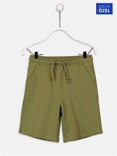 Yeşil Erkek Çocuk Örme Şort 9SS770Z4 LC Waikiki