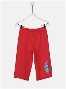 %100 Pamuk Kız Çocuk Pijamaskeliler Pamuklu Pijama Takımı