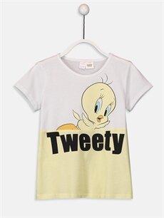 Kız Çocuk Kız Çocuk Tweety Pamuklu Pijama Takımı