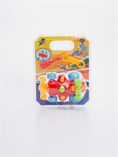 Çok Renkli Erkek Çocuk Oyuncak Araba Tamir Seti 9SA604Z4 LC Waikiki
