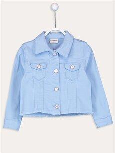 Mavi Kız Çocuk Jean Ceket 9SA767Z4 LC Waikiki