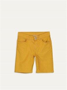 Sarı Erkek Çocuk Gabardin Bermuda 9SB172Z4 LC Waikiki