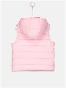 %100 Poliamid %100 Polyester Yelek Kız Bebek Şişme Yelek