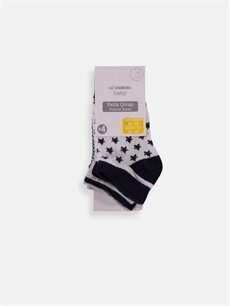 Çok Renkli Erkek Bebek Patik Çorap 4'lü 9S2254Z1 LC Waikiki