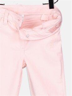Kız Bebek Kız Bebek Gabardin Skinny Pantolon